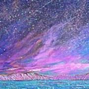 Starry.....starry Night Art Print