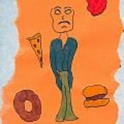 Starving Art Print
