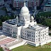 State Capitol Buildng Providence Rhode Island Art Print