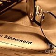 Statement With Glasses Art Print