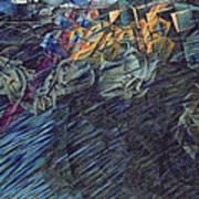 States Of Mind    Those Who Go Print by Umberto Boccioni