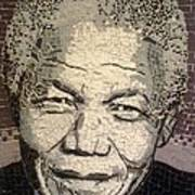 Nelson Mandela Statesman Art Print