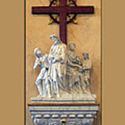 Station Of The Cross 01 Art Print
