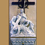 Station Of The Cross 07 Art Print