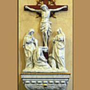 Station Of The Cross 12 Art Print