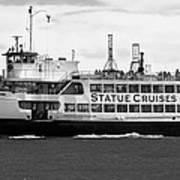Statue Cruise Art Print