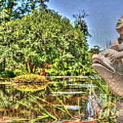 Statue In Brookgreen Gardens Art Print