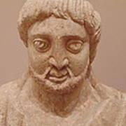Statue Of A King Art Print