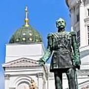 Statue Of Alexander II Art Print