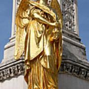 Statue Of Angel2 Art Print