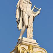 Statue Of Apollo Art Print