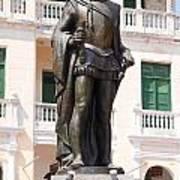 Statue Of Pedro De Heredia Art Print
