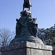 Statue Of Thomas Jefferson Art Print