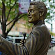 Statue Of Us President Bill Clinton Art Print