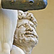 Statues Of Hercules And Cacus Art Print