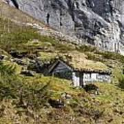 Stavbergsetra - Cowherd Huts Art Print