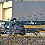 Stealth Air Attack Helicopter Art Print