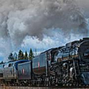 Steam Engine 261 Art Print