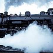 Steam Engine 3254 Art Print