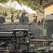 Steam Engine At Cumbres Pass Art Print