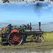 Steam Farming Art Print