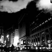 Steam Heat - New York At Night Art Print
