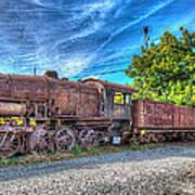 Steam Locomotive No 1151 Norfolk And Western Class M2c Art Print