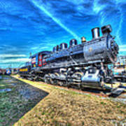 Steam Locomotive No 4 Virginian Class Sa  Art Print
