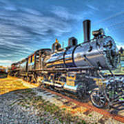 Steam Locomotive No 6 Norfolk And Western Class G-1 Art Print