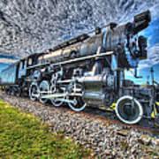 Steam Locomotive No 606 Art Print