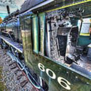 Steam Locomotive Norfolk And Western  No. 606 Art Print