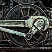 Steam Power Art Print by Olivier Le Queinec