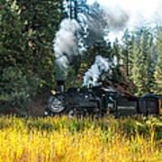 Steam Train 2 Art Print
