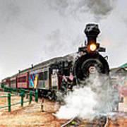 Steam Train 45 Art Print