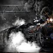 Steam Train Art Print