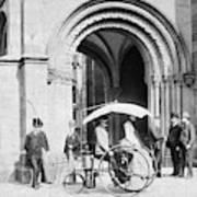 Steam Tricycle, 1888 Art Print