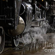 Steam Wheels Art Print