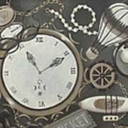 Steampunk Adventure Art Print