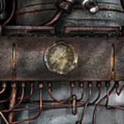 Steampunk - Connections   Art Print