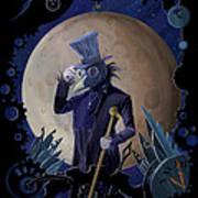 Steampunk Crownman Art Print