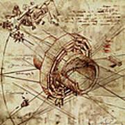 Steampunk Dream Series Iv Art Print