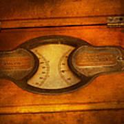 Steampunk - Electrician - The Portable Volt Meter Art Print