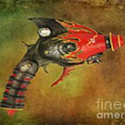 Steampunk - Gun - Electric Raygun Art Print