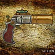Steampunk - Gun - The Ladies Gun Art Print