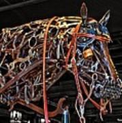 Steampunk Horse Art Print