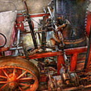 Steampunk - My Transportation Device Art Print