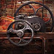 Steampunk - No 10 Art Print by Mike Savad