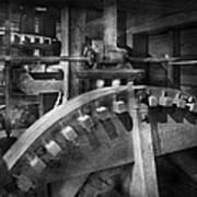 Steampunk - Runs Like Clockwork Art Print