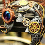 Steampunk - The Mask Art Print