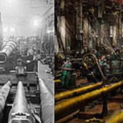 Steampunk - War - We Are Ready - Side By Side Art Print